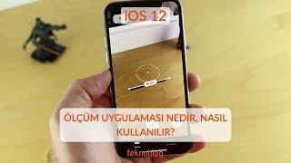 iOS 12: Ölçüm uygulaması nedir, nasıl kullanılır? screenshot 4