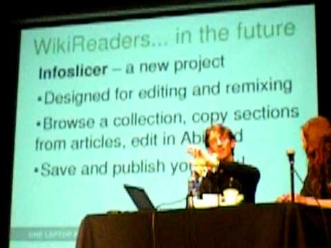 OLPC y Wikipedia en escuelas rurales de Perú