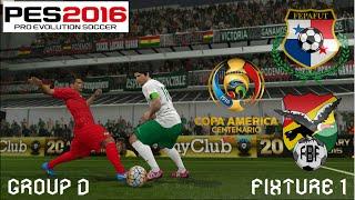 Copa América Centenario Simulation | Group D, Fixture 1 | Panama vs. Bolivia