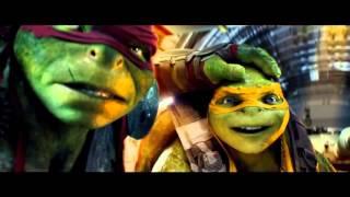 ЧЕРЕПАШКИ НИНДЗЯ 2 — Меган Фокс  Русский трейлер! HD Teenage Mutant Ninja Turtles 2