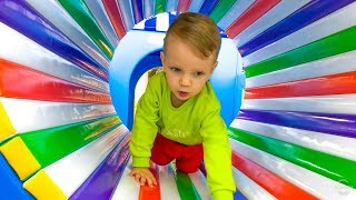 Indoor Playground Kids Songs and Family Fun Activities with Funny Dani