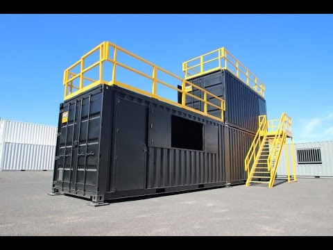 Live Fire Training Containers - YouTube