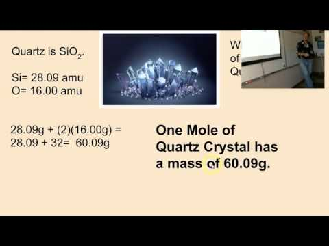 Avogadro's Number and the Mole  CCCS Chemistry #12