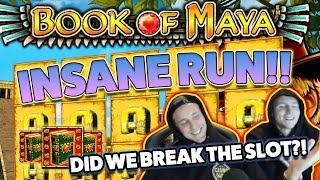 Book of Maya BIG WIN - Casino Games - (Online Casino)