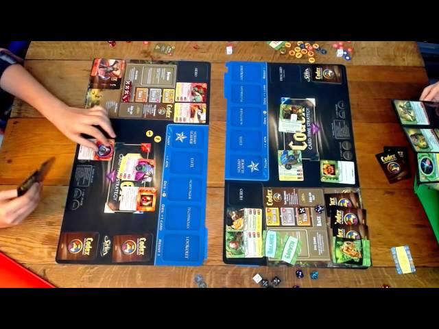 Codex: Card-Time Strategy | BoardGamesWeb