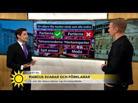 Marcus:'Sger jag att kesson vann debatten s kommer massa arga mejl om att T - Nyhetsmorgon (TV4)