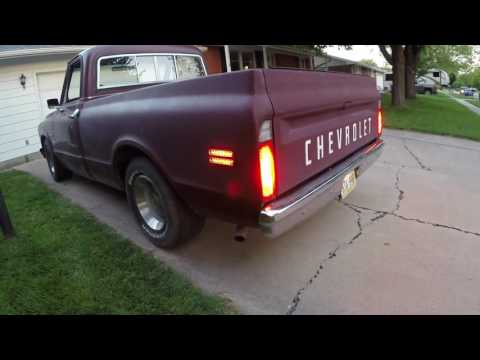 wiring the 1969 chevy c10 side markers properly and fully 1965 chevy truck turn signal wiring diagram chevy nova