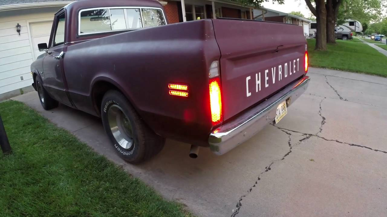 wiring the 1969 chevy c10 side markers properly and fully all three functions  [ 1280 x 720 Pixel ]
