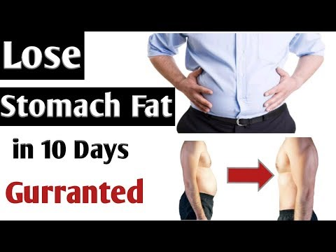 How to LOSE STOMACH Fat in 10 Days? |Men & Women| ubaid fitness