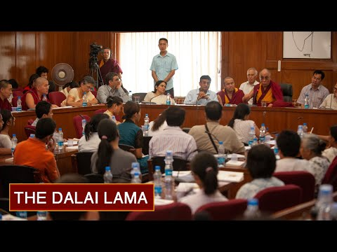 What Life is All About - Day 1pm (Afternoon) - The Dalai Lama at Delhi University