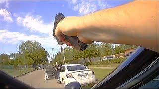 Pasadena Police Kill Driver After Aiming Gun At Officer