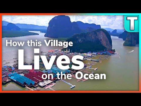 Koh Panyee Floating Fishing Village
