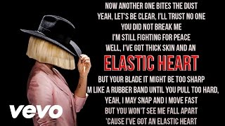 Sia - Elastic Heart (Karaoke) + Lyrics + Backing Vocals | Vevo