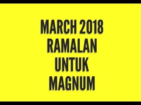 MAGNUM 4D Monthly Predictions - Ramalan Untuk Bulan MARCH 2018 - Tips And  Forecast