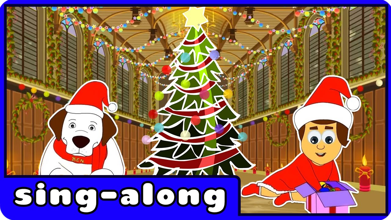 Deck The Halls   Christmas Songs For Children With Lyrics By Hooplakidz Sing-A-Long - YouTube