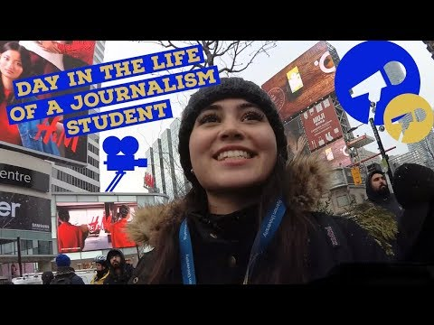 Day in the life of a journalism student