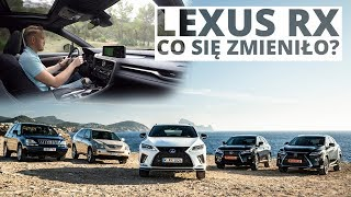 Lexus RX po faceliftingu - rewolucja?