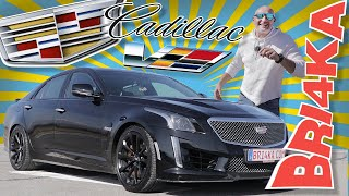 Cadillac CTS-V 3GEN | Test and Review | Bri4ka.com