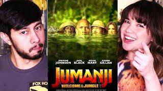 JUMANJI: WELCOME TO THE JUNGLE | Dwayne Johnson | Movie Review!