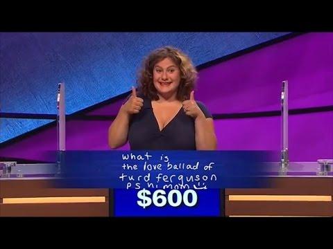 'Jeopardy' Contestant Gets Alex Trebek to Say Turd Ferguson