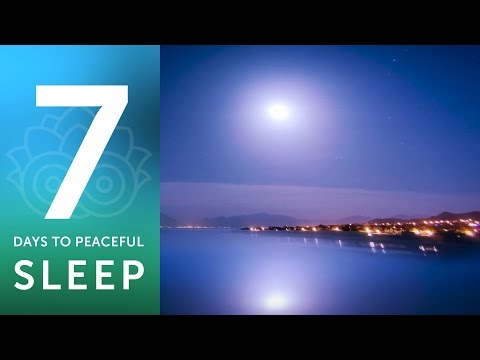 7 Days to Peaceful Sleep - Day 1