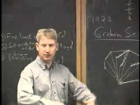 Geometric Algorithms: Graham & Jarvis - Lecture 10