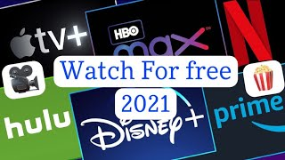 How to watch any movie/series for free 2021
