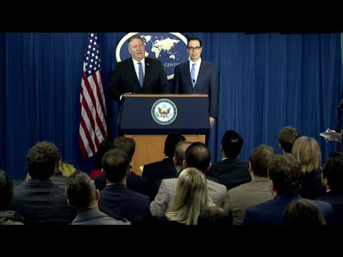 Update on Iran Policy and Sanctions