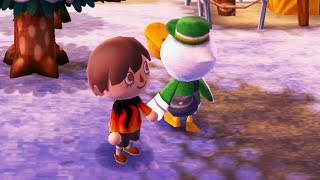 We had to make a new Animal Crossing character...