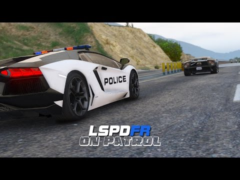 LSPDFR - Day 34 - Lamborghini Highway Patrol
