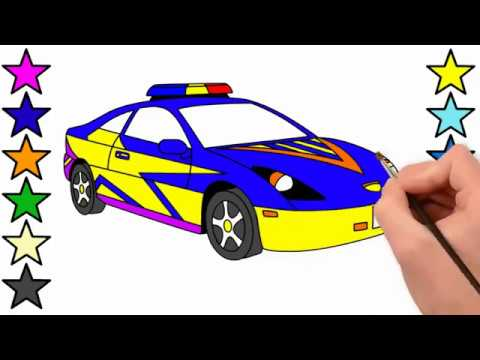 How To Draw a Police Car For Kids ideas kids For Kids ...