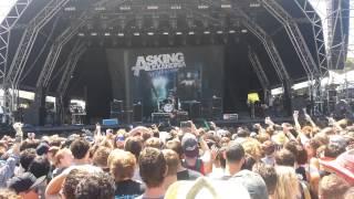 Soundwave 2014 Perth - Asking Alexandria - Don