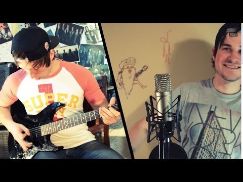 Woe, Is Me - A Story To Tell guitar & vocal cover by Anton Chernik & Pavel Smolin