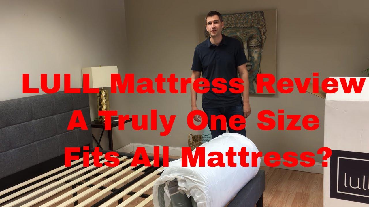 lull mattress review - youtube