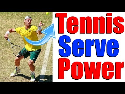 Tennis Serve Lesson With The Worlds Fastest Server