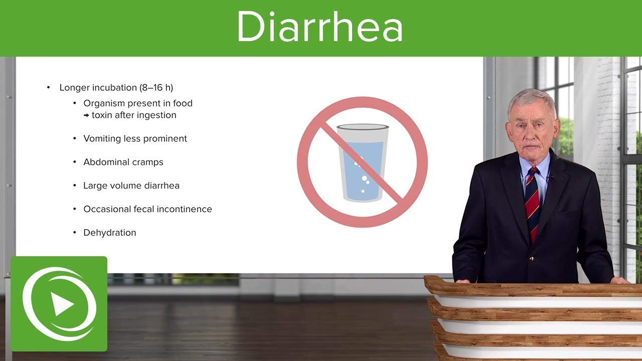 Diarrhea – Infectious Diseases | Lecturio