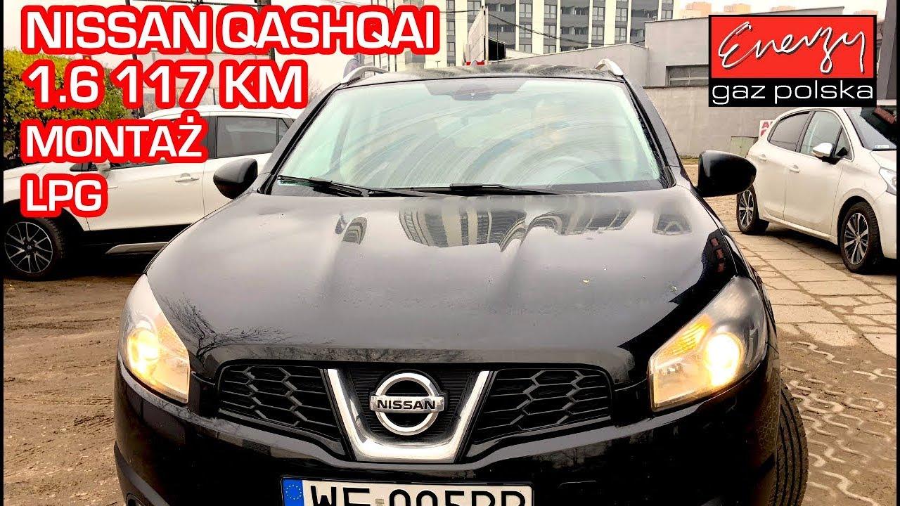 Montaż LPG Nissan Qashqai z 1.6 117KM 2011r w Energy Gaz Polska na gaz BRC Sequent 32