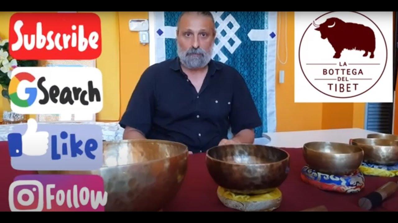 Campane Tibetane vendita online