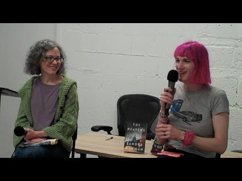 Charlie Jane Anders and Sandra Newman read at Politics & Prose Bookstore
