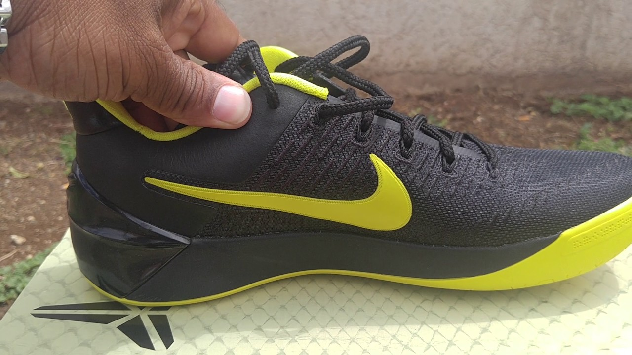 ff8288a50c6a Double up! Kobe A.D Oregon Review - YouTube