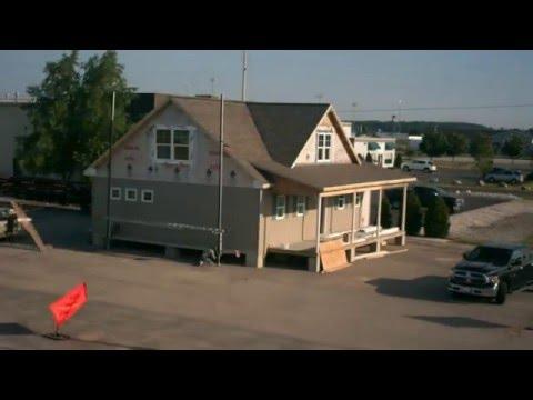 Eastwood Custom Homes Oswego Ii Model Time Lapse Youtube