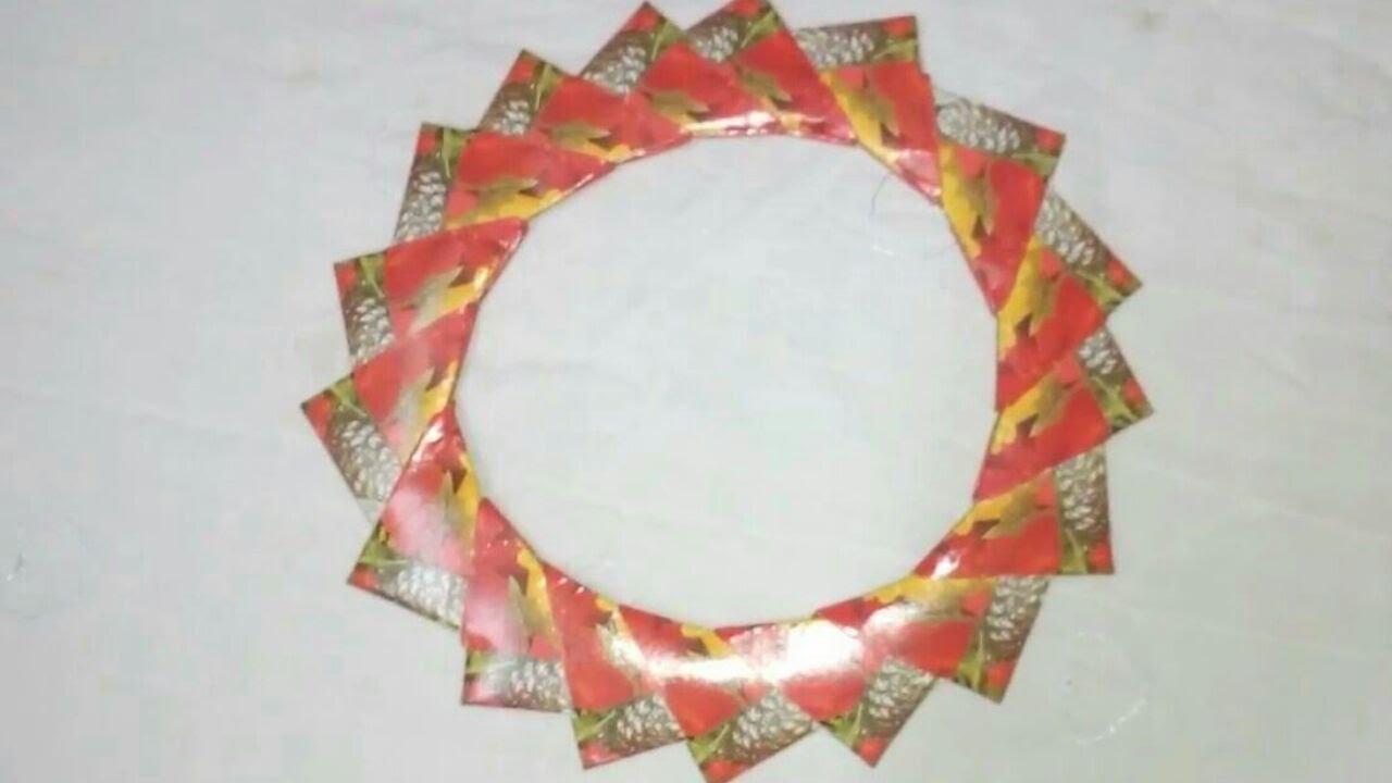 card dhamakabest out of wastediy cardscards photo frame youtube