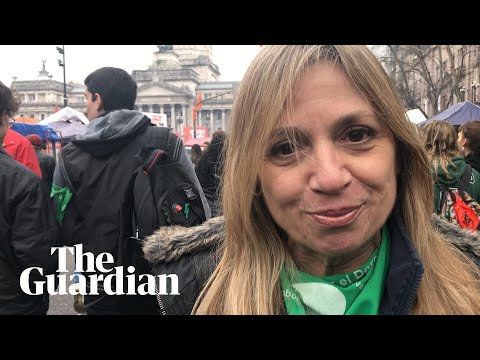 Argentina pro-choice activist: 'Sooner or later we'll have an abortion law'