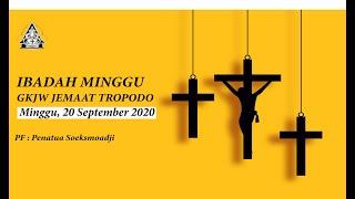 Ibadah Minggu Nuansa Pemuda GKJW Tropodo 20 September 2020