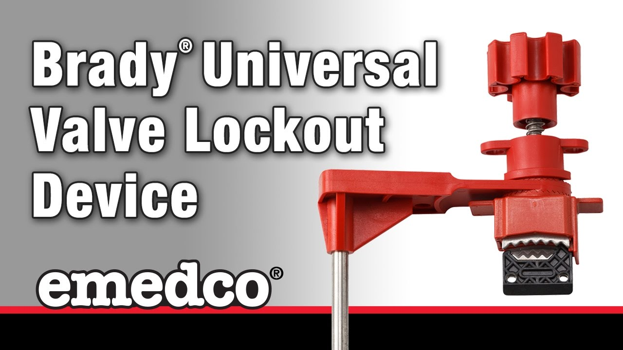 How To Install A Brady Universal Valve Lockout Device