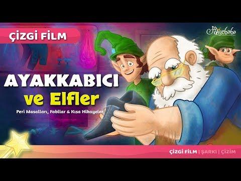 Ayakkabıcı ve Elfler çizgi film masal 33 - Adisebaba Çizgi Film Masallar
