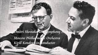 Shostakovich: Symphony No.6 in B minor - Kondrashin / Moscow Philharmonic Orchestra