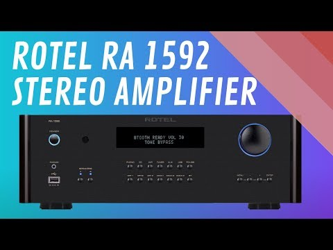 Rotel RA 1592 Stereo Amplifier - Quick Look India