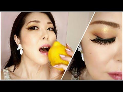 Yellow Lemon Make-Up★黄色のシャドウを使いこなせ!レモンメイク【アラフィフ・Forties】 thumbnail