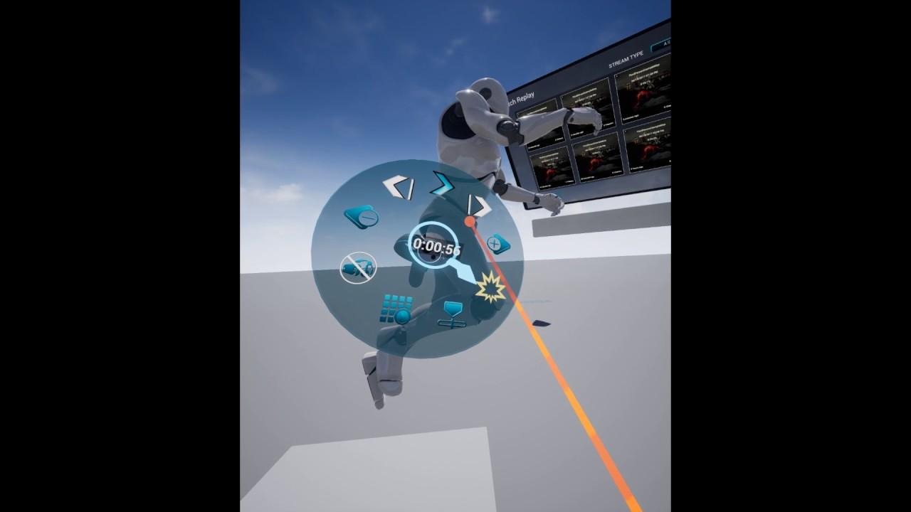 UE4 Demo Player Plugin VR Update